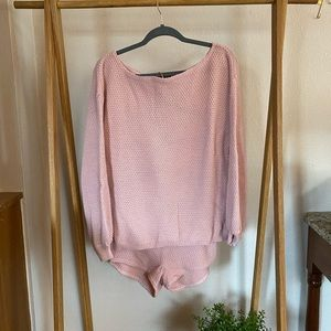 Knit Happens Sweater and Shorts Set